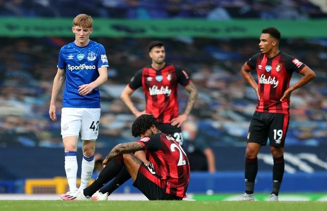 Bournemouth were relegated on the final day of the season despite beating Everton