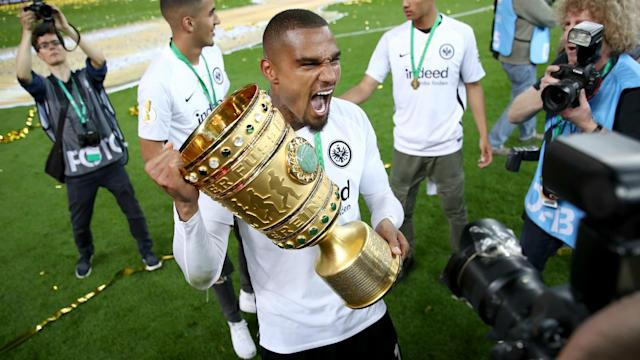 Kevin-Prince Boateng acknowledged he was fortunate not to have conceded a penalty when Frankfurt beat Bayern Munich in Berlin.