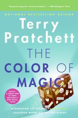 "<p><strong>Pratchett, Terry</strong></p><p>bookshop.org</p><p><strong>$14.71</strong></p><p><a href=""https://go.redirectingat.com?id=74968X1596630&url=https%3A%2F%2Fbookshop.org%2Fbooks%2Fthe-color-of-magic-a-discworld-novel%2F9780060855925&sref=https%3A%2F%2Fwww.menshealth.com%2Fentertainment%2Fg35353184%2Fbest-fantasy-book-series%2F"" rel=""nofollow noopener"" target=""_blank"" data-ylk=""slk:Shop Now"" class=""link rapid-noclick-resp"">Shop Now</a></p><p>Think of this series as a grown-up version of <em>Horton Hears a Who. </em>Terry Pratchett's fantasy series takes place on a flat planet, all perfectly balanced on the backs of four elephants, which in turn stand on the shell of a turtle. (No, really.) Its use of mythology and folklore made these novels a smash hit amongst readers.</p>"