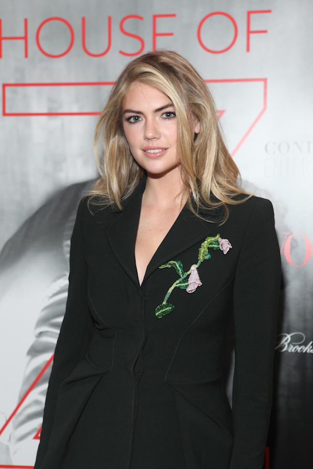 Model Kate Upton opened up about alleged sexual abuse from Guess co-founder Paul Marciano. (Photo: Getty Images)
