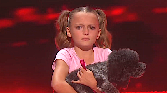 Alexis Brownley & the Puppy Pals is eliminated on 'America's Got Talent.' (Photo: NBC)