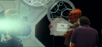 <p>Ackbar riffs on his iconic line in this still from the behind-the-scenes featurette.<br>(Credit: Lucasfilm) </p>