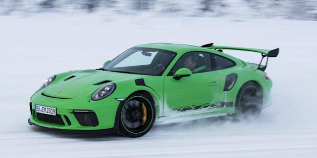 <p>Porsche's motorsport models are all about function. But one detail on the GT3 RS isn't.</p>