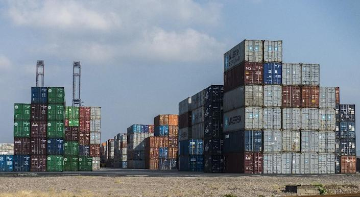 Some 80 percent of Mexico's exports go to the United States, a clear indicator of the country's dependence on the US market for its economic wellbeing (AFP Photo/OMAR TORRES)