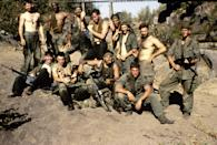 "<p>A young soldier in the Vietnam War faces a moral dilemma when he's caught between two sergeants and their rivalry. </p> <p> <a href=""http://www.netflix.com/search?q=platoon&amp;jbv=860591"" class=""link rapid-noclick-resp"" rel=""nofollow noopener"" target=""_blank"" data-ylk=""slk:Watch Platoon on Netflix now."">Watch <strong>Platoon </strong>on Netflix now.</a> </p>"