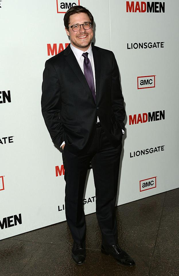"Rich Sommer arrives at the Premiere of AMC's ""Mad Men"" Season 6 at DGA Theater on March 20, 2013 in Los Angeles, California."