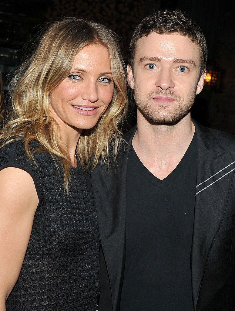 """<p>The actors met in 2003 at the Nickelodeon Kids' Choice Awards, but split four years later in 2007. In a <a href=""""https://people.com/celebrity/justin-timberlake-and-cameron-diaz-break-up/"""" rel=""""nofollow noopener"""" target=""""_blank"""" data-ylk=""""slk:joint statement"""" class=""""link rapid-noclick-resp"""">joint statement</a> released at the time, they said:</p><p>""""It has always been our preference not to comment on the status of our relationship, but, out of respect for the time we've spent together, we feel compelled to do so now, in light of recent speculation and the number of inaccurate stories that are being reported by the media. We have, in fact, ended our romantic relationship, and have done so mutually and as friends, with continued love and respect for one another.""""</p>"""