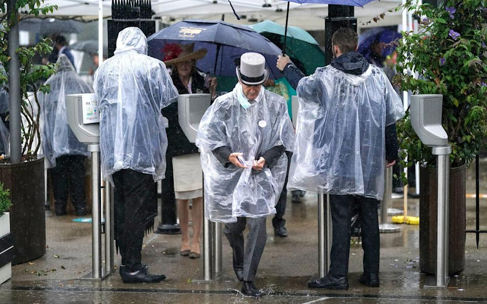 Royal Ascot 2021: Inspection at 12.45pm after torrential rain - PA