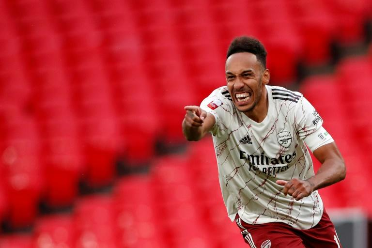 Aubameyang underlines value as Arsenal win Community Shield