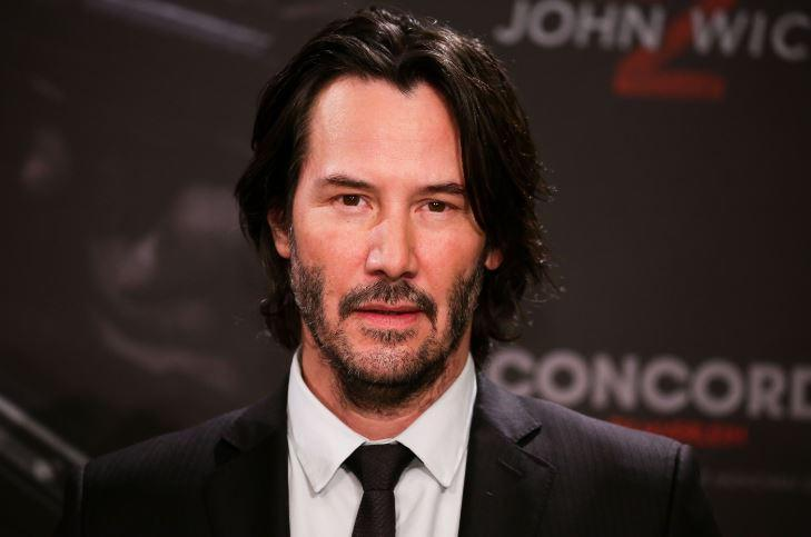 <p>Keanu still looks as excellent at 52 as he did at 22 (Photo:Rex) </p>