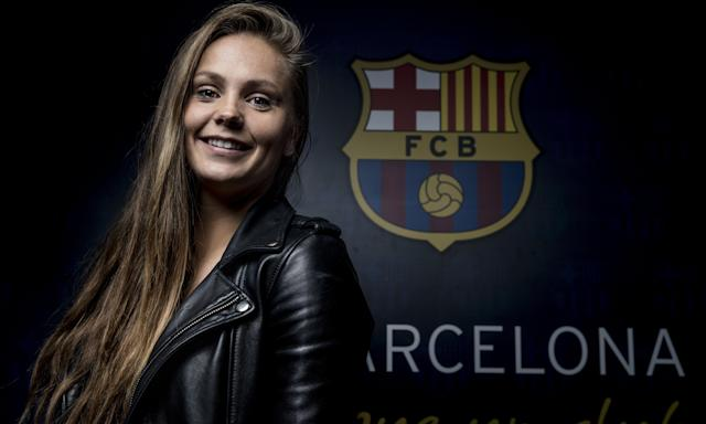 Lieke Martens joined Barcelona last year and has her sights set on the La Liga title.