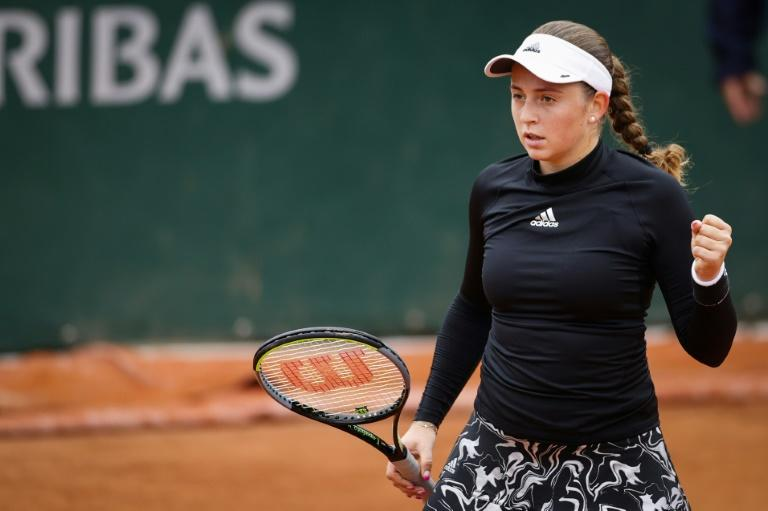 Ostapenko gets first French Open win since 2017 title
