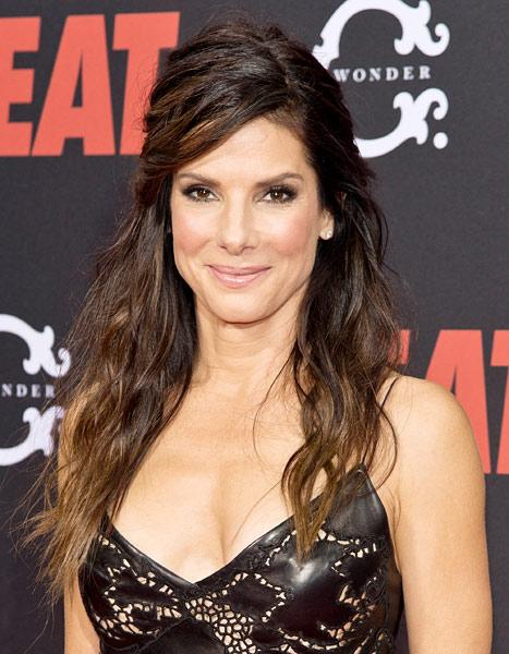 """Sandra Bullock on Being Single: """"My Sexy Lingerie Has Been Locked in a Drawer for a While"""""""