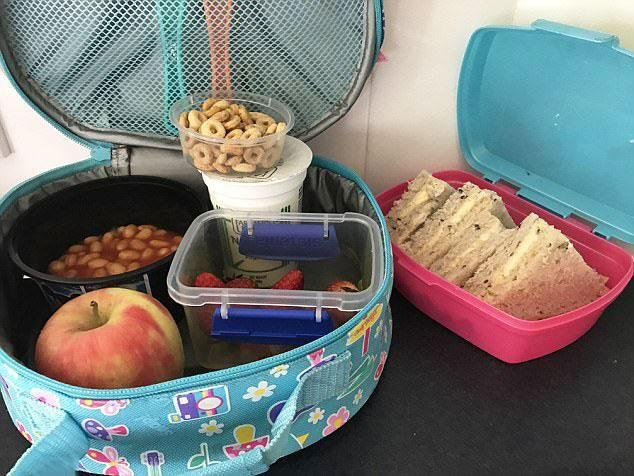 There are three things in this photo that Kate has felt lunchbox shamed over