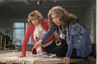 """<p>Former <em>9 to 5</em> costars Jane Fonda (Grace) and Lily Tomlin (Frankie) reunite for a joyous, comedic take on life after 70. Longtime rivals, the women have no choice but to connect after learning that their loyal husbands plan to leave them for…each other. </p><p><a class=""""link rapid-noclick-resp"""" href=""""https://www.netflix.com/title/80017537"""" rel=""""nofollow noopener"""" target=""""_blank"""" data-ylk=""""slk:Watch Now"""">Watch Now</a><br></p>"""