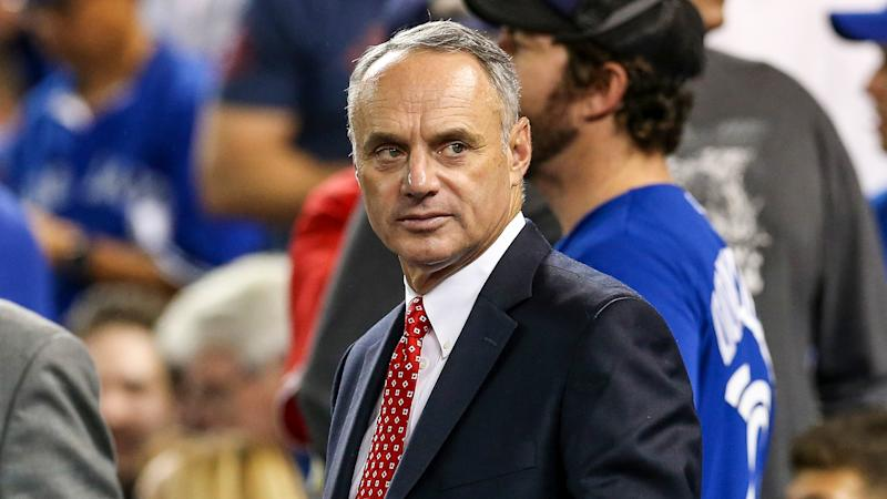 Rob Manfred says MLB season will continue because he 'isn't a quitter'