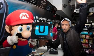 Nintendo Wii U: Games Fans Queue For Console