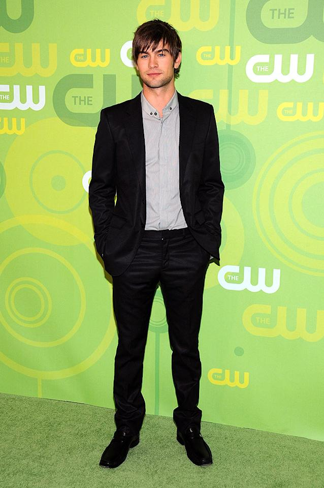 """Carrie Underwood's ex Chase Crawford dons a simple suit and his trademark scruff. Bryan Bedder/<a href=""""http://www.gettyimages.com/"""" target=""""new"""">GettyImages.com</a> - May 13, 2008"""