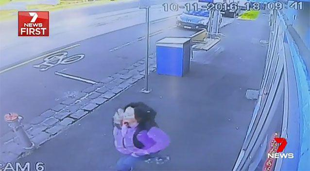 The owner tried to catch the thief but struggled to keep up. Source: 7 News