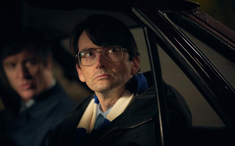 David Tennant (pictured) plays Dennis Nilsen in the ITV mini-series Des - ITV