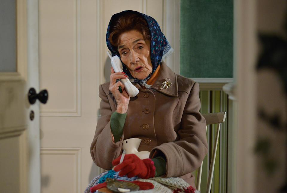 June Brown to splash urine on face for new ITV show