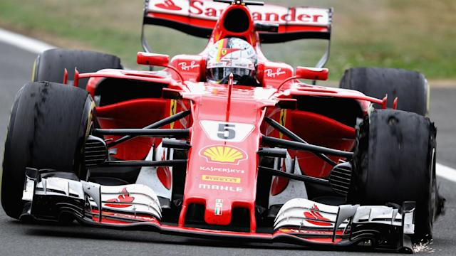 Despite the disappointment of finishing seventh, Sebastian Vettel did not point the finger at anyone following Ferrari's tyre problems.