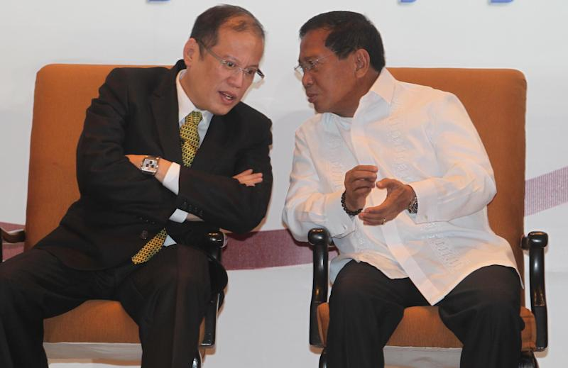 Aquino and Binay