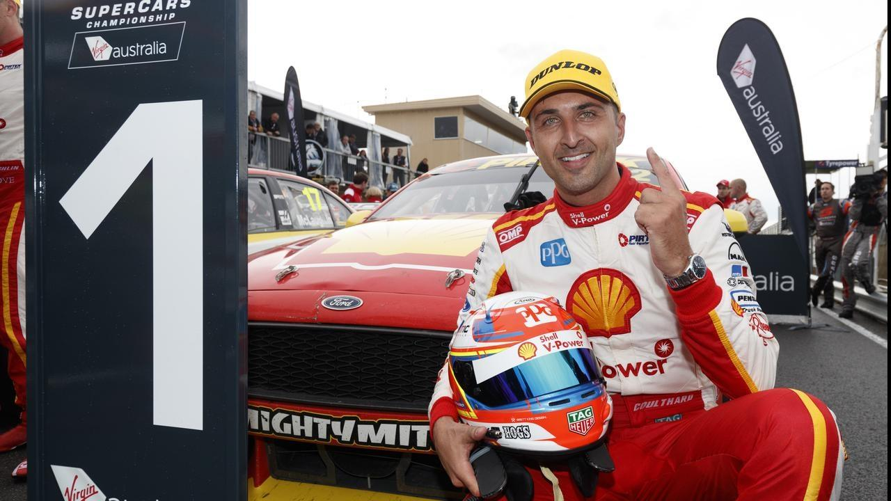 Fabian Coulthard will take to Motorsport Park Thursday night to test out cars under lights