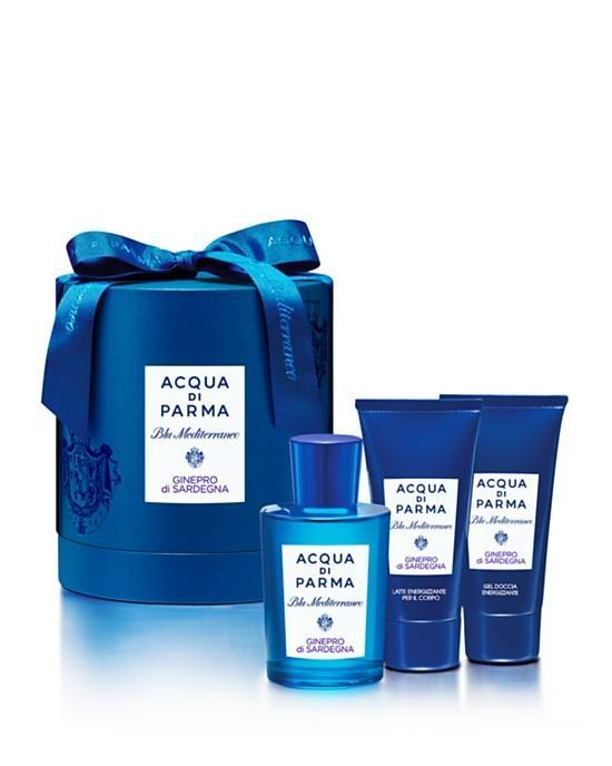 "<p>Notes of juniper, bergamot, and cypress conjure up the Italian Mediterranean even if a getaway isn't in the cards this season. <a href=""http://www.sephora.com/blu-mediterraneo-mandorlo-di-sicilia-P307803?skuId=1417575&icid2=acquadiparma_bestsellers_carousel_brand:acqua%20di%20parma_p307803_image"" rel=""nofollow noopener"" target=""_blank"" data-ylk=""slk:Acqua di Parma Ginepro di Sardegna Gift Set"" class=""link rapid-noclick-resp"">Acqua di Parma Ginepro di Sardegna Gift Set</a> ($147)</p>"
