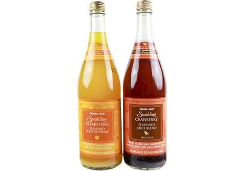 """<p>I am a huge fan of the Trader Joe's beverage aisle for finding flavorful juices to use as cocktail mixers or in punch recipes. For punches that I make with gin or tequila, I'll grab any of the <a href=""""https://www.traderjoes.com/FearlessFlyer/Article/4463"""" target=""""_blank"""" class=""""ga-track"""" data-ga-category=""""Related"""" data-ga-label=""""https://www.traderjoes.com/FearlessFlyer/Article/4463"""" data-ga-action=""""In-Line Links"""">sparking juices;</a> the clementine is my favorite since it brings a more unusual flavor to cocktails. </p>"""