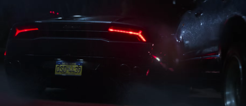 Stephen Strange is taking a call when his car crashes off the road - Credit: Disney