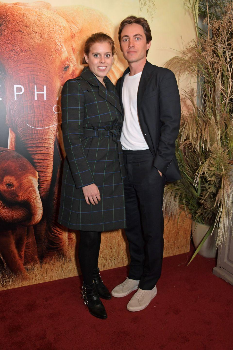 """<p>After <a href=""""https://www.townandcountrymag.com/society/tradition/a36471615/princess-beatrice-pregnant-first-child-edoardo-mapelli-mozzi/"""" rel=""""nofollow noopener"""" target=""""_blank"""" data-ylk=""""slk:announcing in May"""" class=""""link rapid-noclick-resp"""">announcing in May</a> that they would be expecting an autumn arrival, in September 2021, Beatrice and Edo <a href=""""https://www.townandcountrymag.com/society/tradition/a37332625/princess-beatrice-gives-birth-royal-baby-2021/"""" rel=""""nofollow noopener"""" target=""""_blank"""" data-ylk=""""slk:welcomed their first child together—a baby girl"""" class=""""link rapid-noclick-resp"""">welcomed their first child together—a baby girl</a>.</p><p>While no new photos of the couple or their baby have been shared yet, the entire <a href=""""https://www.townandcountrymag.com/society/tradition/a37456577/queen-elizabeth-princess-beatrice-baby-reaction/"""" rel=""""nofollow noopener"""" target=""""_blank"""" data-ylk=""""slk:royal family is reportedly &quot;delighted&quot;"""" class=""""link rapid-noclick-resp"""">royal family is reportedly """"delighted""""</a> at the happy news. </p>"""