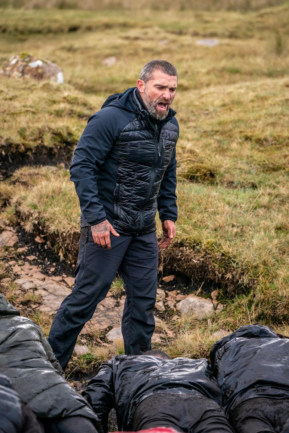 Ant Middleton in SAS: Who Dares Wins (Channel 4)