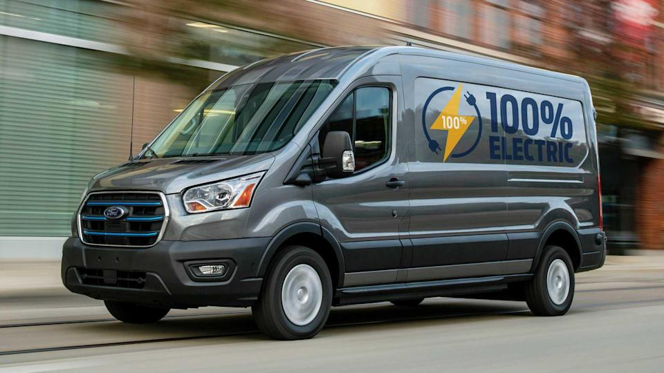 2022 Ford E-Transit Lead