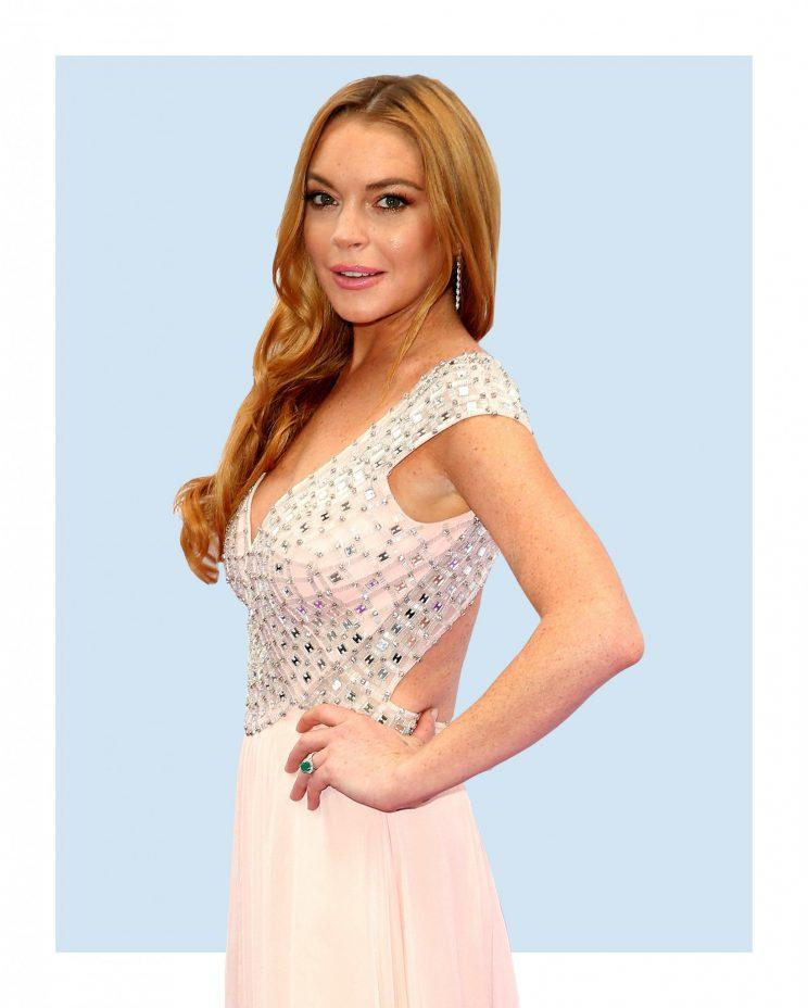 Is Lindsay Lohan designing again? (Photo: Getty Images)