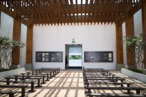 The back of the chapel. Photo: Coconuts