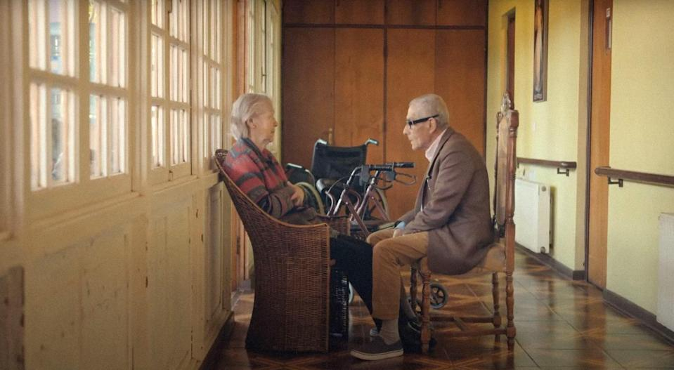 """<p><strong>Nominated for:</strong> Best Documentary Feature (Maite Alberdi and Marcela Santibáñez)</p> <p><strong>What it's about:</strong> An elderly man goes undercover at a nursing home to root out suspected abuse.</p> <p><strong>Where to watch:</strong> <a href=""""https://cna.st/affiliate-link/Lkx5GxxgPJzHyfmdtnhzRDNAsvB3QteJFsxs8rC8SuVSprMpX8He1wHrurzNU4a4G9urmM1u12Cwno92x4stLN4MAj8wjC3dX8XgtazptPyuBTiBT7srshshQHW7aro7ZF2KHUtjxMMU3FEeYK?cid=607c87d248c995b3b00ffc40"""" rel=""""nofollow noopener"""" target=""""_blank"""" data-ylk=""""slk:Stream now on Hulu"""" class=""""link rapid-noclick-resp"""">Stream now on Hulu</a></p>"""