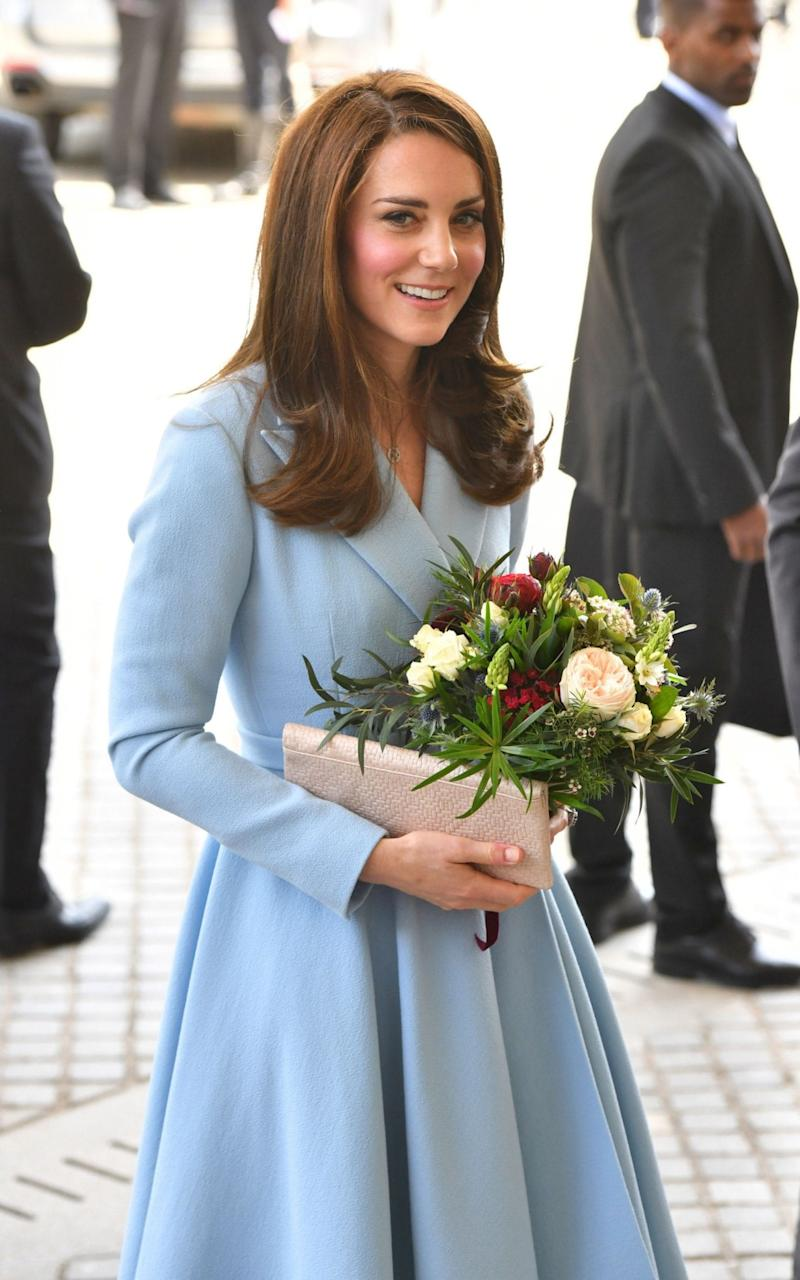 The Duchess of Cambridge during a day of visits in Luxembourg - Credit: PA