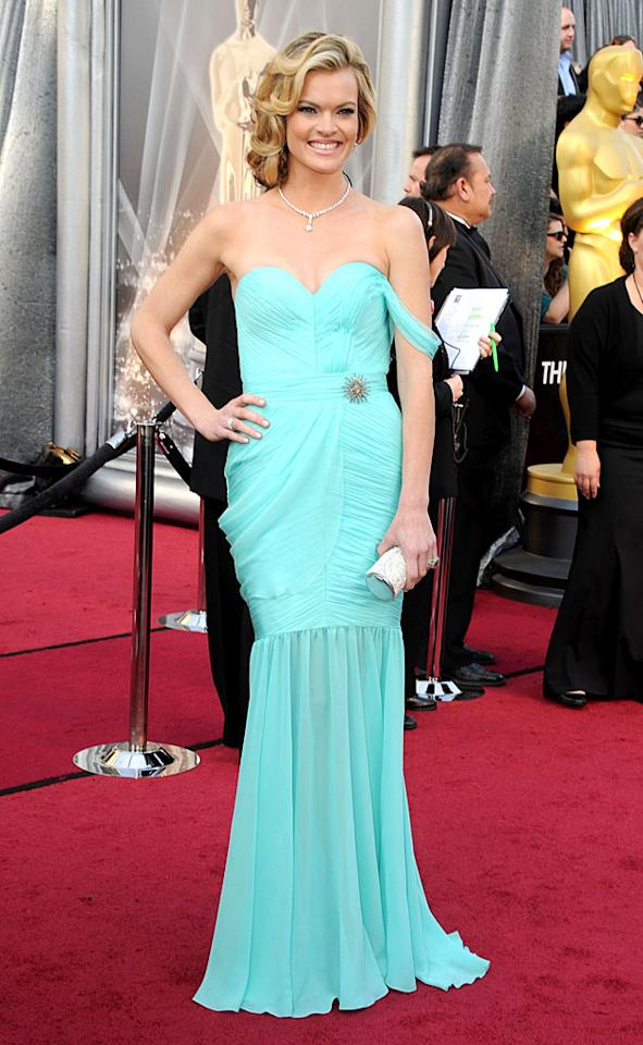 Missi Pyle arrives at the 84th Annual Academy Awards in Hollywood, CA.