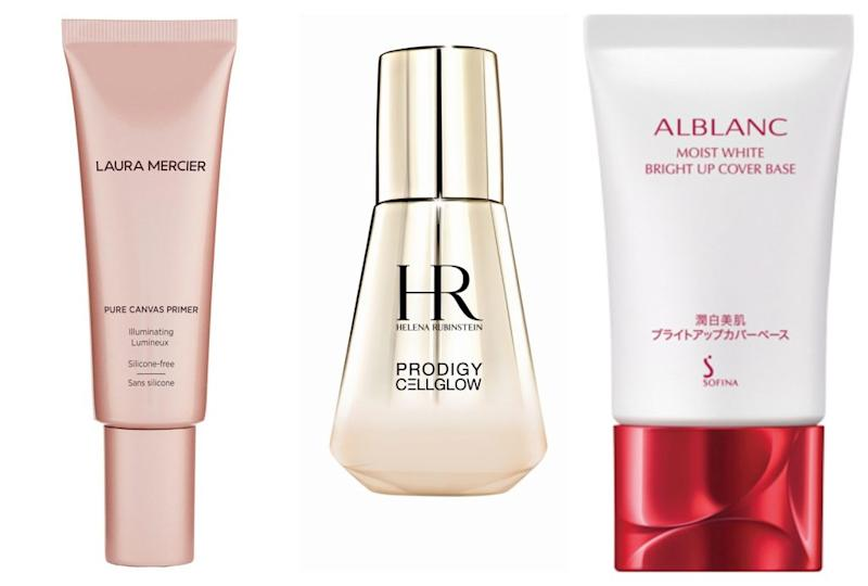 口罩妝 化妝底霜 make up base Helena Rubinstein Sofina Alblanc Laura Mercier