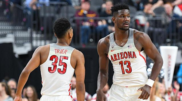 "<p>Here's some bad news for the people in your life who join the college basketball season during the second week of March, pick the top seeds to win almost every game and somehow walk away with office pool bragging rights: Most of 2017–18's best teams have been exceptionally bad at sticking to the script. After a regular season that featured top-five upsets on a weekly basis and left almost every team with at least one truly head-scratching loss, chalk would qualify as a surprise outcome in this year's NCAA tournament.</p><p>The three days between Selection Sunday and Round 1 coincide with a swell of public momentum in favor of the No. 11- and 12-seeds in best position to pull off opening weekend upsets, but that focus tends to distract from the upper-echelon teams that leave us genuinely stunned when they bow out before the end of the first weekend. If it were at all easy to see those losses coming, the favorites wouldn't be seeded high enough to enable the matchup. Still, a handful of teams that earned top-four seeds in their respective regions reside in the Danger Zone, with some fatal flaw, nightmare matchup or bad karma looming that could thwart their Sweet 16 hopes.</p><p>They may not get bounced in the first round (at least not all of them), but think long and hard before hitching your wagon to any of these six squads for a deep March run.</p><h3><strong>Auburn (No. 4 seed, Midwest Region)</strong></h3><p>The Tigers limped to a share of the SEC title, losing three of their final five regular season games before falling victim to the Collin Sexton Show in their SEC tournament opener against Alabama. That put a damper on a campaign in which head coach Bruce Pearl lit up the SEC with a relentless, three-heavy offense run by a smallball lineup born out of the school's decision to sideline sophomore frontcourt contributors Danjel Purifoy and Austin Wiley in the wake of the FBI's findings against former assistant coach Chuck Person. When Anfernee McLemore, another sophomore forward, was lost for the year with a dislocated ankle in mid-February, that rotation got critically thin, putting the Tigers on level pegging with the undersized teams standing in their way.</p><p>Both College of Charleston, which took care of the ball better than anyone in the Colonial, and potential second-round opponent Clemson, which plays relentless interior defense despite not having a player over 6'9"", could stop the shorthanded Tigers short of a measuring-stick Sweet 16 game against top-seeded Kansas.</p><h3><strong>Arizona (No. 4 seed, South Region)</strong></h3><p>Super-freshman Deandre Ayton heads into the tournament on a high after raising his game to a terrifying level in the Pac-12 tournament, finishing with 32 points and double-digit rebounds in each of Arizona's final two games. But with a piece of net tied to his hat, Ayton was comfortable enough to reveal that nerves factored into his quiet 10-point night in the Wildcats' win over Colorado to start the tournament, an admission that highlights how risky it can be to bank on blue-chip freshmen driving the bus this time of year. Arizona opens with Buffalo, which sits seventh in the nation with 84.8 points per game and will be eager to try its hand at a Pac-12 track meet. The Bulls don't have the size or talent to contain Ayton inside without some good fortune, but Kentucky (a potential second-round foe as the No. 5-seed) and Virginia (the No. 1 overall seed that could be waiting in the Sweet 16) do. Sean Miller's group may be hotter than any other team listed here, but being dropped into a region where defense and toughness are expected to reign was a less-than-ideal outcome.</p><h3><strong>Michigan State (No. 3 seed, Midwest Region)</strong></h3><p>For a team that lost four times, stayed in the AP top 10 all year and has <a href=""https://twitter.com/search?q=%22tom%20izzo%20in%20march%22&src=typd"" rel=""nofollow noopener"" target=""_blank"" data-ylk=""slk:a coach whose consistency come tournament time remains a trusted meme"" class=""link rapid-noclick-resp"">a coach whose consistency come tournament time remains a trusted meme</a> despite two first-weekend exits in two years, Michigan State has not always inspired confidence in the past month. The Spartans have the third-best scoring margin in the nation (16.2 points) but had some close shaves late in Big Ten play—including dicey wins at home against Rutgers and at Indiana, Iowa, Northwestern and Wisconsin—and then couldn't muster an adequate response when Michigan went on a second-half run in the Big Ten tourney semifinals.</p><p>The Spartans still rebound like crazy, shoot the three better than almost anyone in the country (they sit fifth in the nation at 41.3% from deep) and boast two lottery pick candidates in freshman Jaren Jackson Jr. and sophomore Miles Bridges, but they've landed a dangerous draw for a top seed that likes to play with its food. Up first is No. 14 seed Bucknell, which won the Patriot League by four games on the strength of an upperclassmen-rich rotation and pulled off back-to-back first-round wins in 2005 (Kansas) and '06 (Arkansas). For all their flaws, potential second-round opponents TCU and Arizona State both spent time in the top 10 around the holidays. And a Champions Classic rematch with Duke looms in the Sweet Sixteen.</p><h3><strong>Texas Tech (No. 3 seed, East Region)</strong></h3><p>After grabbing everyone's attention by knocking off Kansas in Lawrence and edging West Virginia when the Mountaineers were ranked No. 2, the Red Raiders came back to Earth down the stretch with a four-game losing streak to land a No. 3 seed and a date with 2016 tournament darlings Stephen F. Austin. Star senior Keenan Evans enters the tournament at less than 100% after mid-February turf toe issues, and Texas Tech's ability to support its stellar defense with offensive production takes a big hit when Evans isn't right. The Red Raiders do get to play their first two games in Dallas, just a five-hour drive away from home, but they will have to limit some tricky, streaky offenses to make it to Boston.</p><h3><strong>Xavier (No. 1 seed, West Region)</strong></h3><p>Why is everyone so down on the Musketeers, which <a href=""https://twitter.com/SabinAnalytics/status/973036898523295744?ref_src=twsrc%5Etfw&ref_url=http%3A%2F%2Fthespun.com%2Fcollege-hoops%2Fespn-bpi-xavier-4-seed"" rel=""nofollow noopener"" target=""_blank"" data-ylk=""slk:ESPN's Basketball Power Index rates as the third-weakest 1-seed in the past 10 years"" class=""link rapid-noclick-resp"">ESPN's Basketball Power Index rates as the third-weakest 1-seed in the past 10 years</a>? One answer lies in <a href=""https://kenpom.com/index.php?s=RankLuck"" rel=""nofollow noopener"" target=""_blank"" data-ylk=""slk:Kenpom.com's Luck metric"" class=""link rapid-noclick-resp"">Kenpom.com's Luck metric</a>, where Xavier tops all power conference teams with a +.109 deviation from its expected winning percentage based on its game-to-game efficiencies. The Musketeers have won a handful of close games against lesser opponents that might have knocked them off the top line had any swung the other way: East Tennessee State, DePaul (twice), St. John's and Georgetown all came within five points of an upset. Xavier may be getting the same treatment Gonzaga did when the Bulldogs finally started to earn No. 1- and 2-seeds, with skeptical onlookers watching closely to see how a perennial March overachiever handles front-runner status. A tricky second-round matchup with either Missouri or Florida State in Nashville should be an adequate litmus test.</p><p>?</p><h3><strong>Cincinnati (No. 2 seed, South Region)</strong></h3><p><a href=""https://www.si.com/college-basketball/2018/03/07/virginia-cavaliers-defense-ncaa-tournament-march-madness"" rel=""nofollow noopener"" target=""_blank"" data-ylk=""slk:Much like the No. 1 seed in their region"" class=""link rapid-noclick-resp"">Much like the No. 1 seed in their region</a>, the Bearcats have ground their opponents down with defense and are more than comfortable playing plodding games in the 50s <a href=""https://www.si.com/college-basketball/game/1966135/box-score"" rel=""nofollow noopener"" target=""_blank"" data-ylk=""slk:(or lower)"" class=""link rapid-noclick-resp"">(or lower)</a>, but if those shots stop falling through unfamiliar rims, their slow pace can keep lesser teams within striking distance longer than Mick Cronin would prefer. No. 15-seed Georgia State will hang out in a zone and dare Cincy's backcourt to bury another first-round upset bid by colorful Panthers coach Ron Hunter, and if the Bearcats reach the second round their hardworking frontcourt could have its hands full on the glass with Texas's Mo Bamba and Dylan Osetkowski or Nevada's Martin twins, Cody and Caleb.</p>"