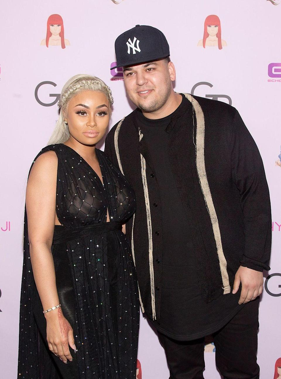 "<p>Due to the constant drama between the couple and the fact that <a href=""https://www.cosmopolitan.com/entertainment/celebs/news/a56285/rob-kardashian-blac-chyna-dating-relationship-timeline/"" rel=""nofollow noopener"" target=""_blank"" data-ylk=""slk:Rob's younger sister was dating his girlfriend's ex-partner"" class=""link rapid-noclick-resp"">Rob's younger sister was dating his girlfriend's ex-partner</a>, fans never really signed on to Blac Chyna and Rob Kardashian's relationship.</p>"