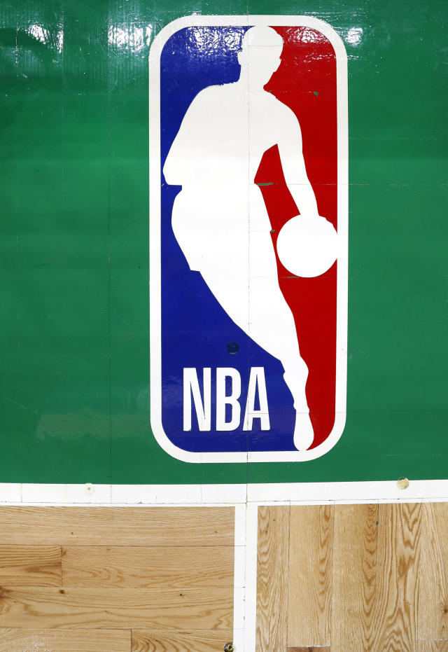 Logo actual de la NBA con la silueta de Jerry West. (Foto: Winslow Townson / USA TODAY Sports / Reuters).