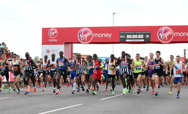 The London Marathon has been moved to October (Steven Paston/PA)