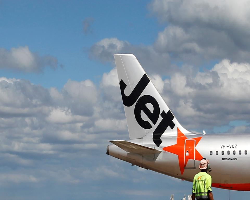 Jetstar voucher giveaway for its 17th birthday. Source: Getty