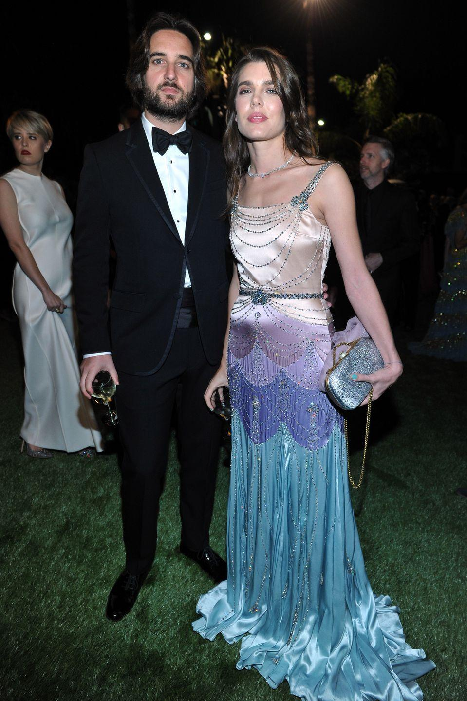 <p>Charlotte and husband, film producer Dimitri Rassam, are often seen at society events in the United States, London, Paris, and in Charlotte's native Monaco. The pair have a son named Balthazar, who is 12th in line to the throne. Charlotte also has a son, Raphaël, from a previous relationship. </p>