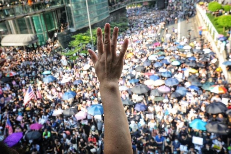 China says its new national security powers in Hong Kong are needed to return stability, after months of sometimes violent pro-democracy rallies in 2019