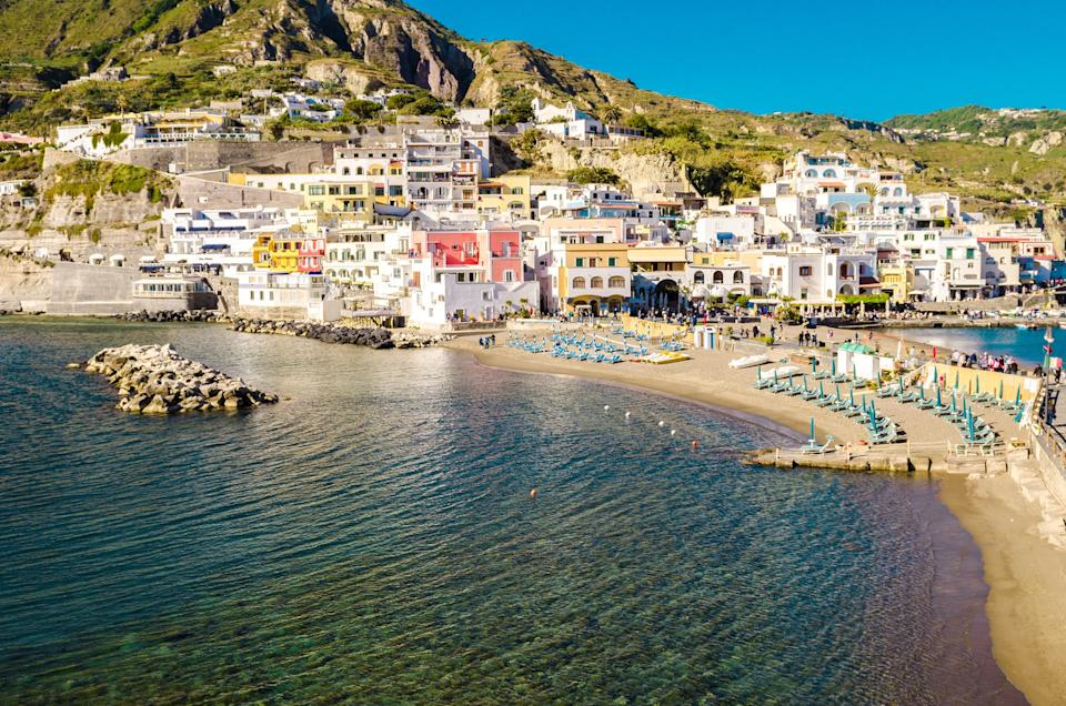 Ischia is well worth donning a sweaty mask for - getty