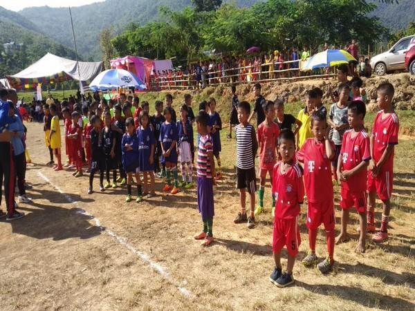 Kids participating in Golden Baby League in Manipur (Photo/ AIFF)