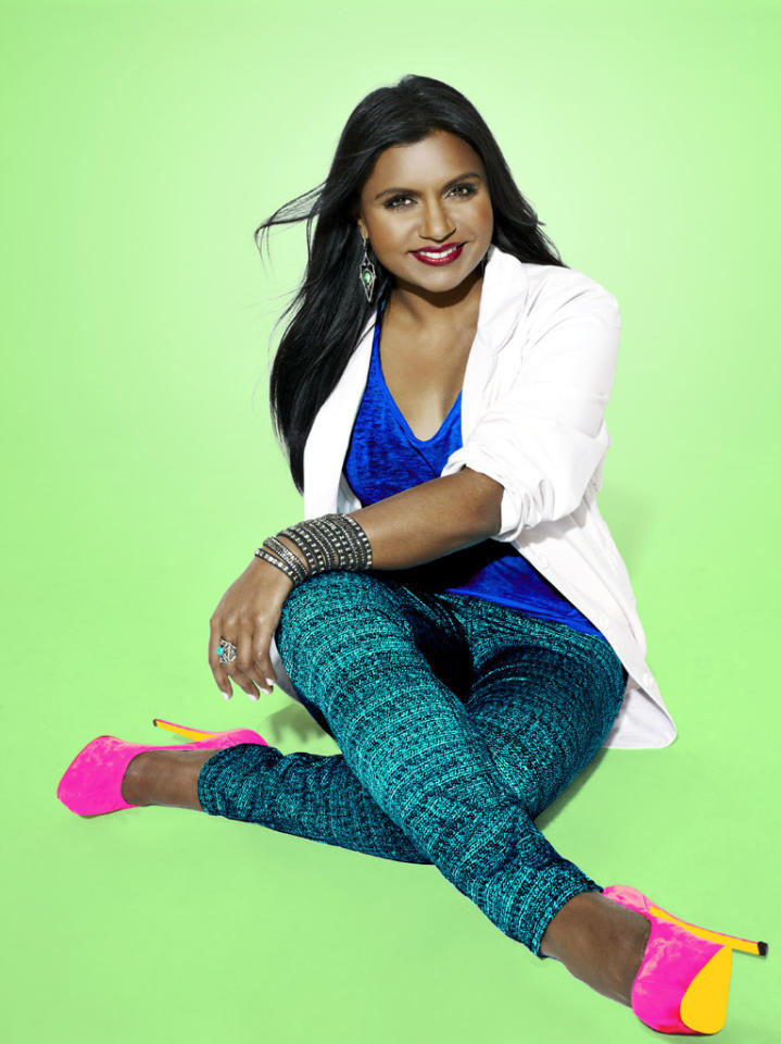 "Mindy Kaling stars in ""The Mindy Project"" on Fox."